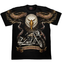 T-shirt Rock Chang Eagle - motard