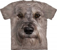 T-shirt The Mountain MINIATURE SCHNAUZER