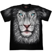 Camiseta Rock Chang White Lion Look