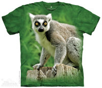 T-shirt enfant The Mountain Ring Tailed Lemur