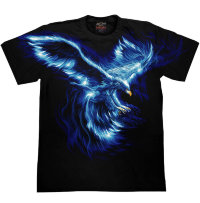 Camiseta Rock Chang Blue Bird
