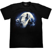 T-shirt Rock Chang Wolf Hurlement