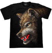 T-shirt Rock Chang Evil Wolf