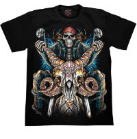 T-shirt Rock Chang Hell Bike