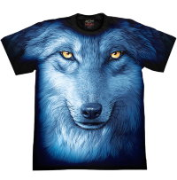 T-shirt Rock Chang Wolf Look
