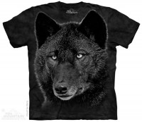Футболка The Mountain Black Wolf