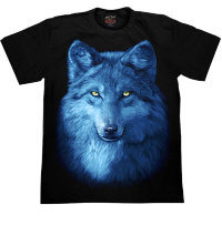 T-shirt Rock Chang Blue Wolf