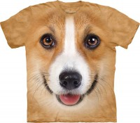 T-shirt The Mountain Corgi Face