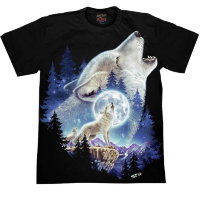 T-shirt Rock Chang Wolf Moon