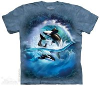 T-shirt The Mountain Orca Wave