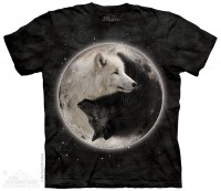 Футболка The Mountain Yin Yang Wolves