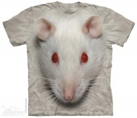 Футболка The Mountain Big Face White Rat