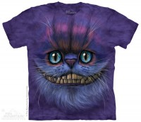 Детская футболка The Mountain Big Face Cheshire Cat