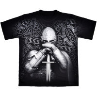 T-shirt Fighting Russia Knight en armure